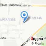 Детский сад №36 комбинированного вида на карте Дзержинска