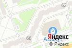 Схема проезда до компании На даче в Дзержинске