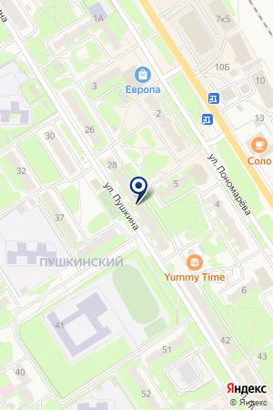 ПРОМТОВАРНЫЙ МАГАЗИН ЛУЧ на карте Заволжья
