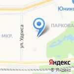 Точка Зрения на карте Дзержинска