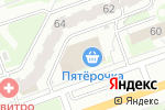 Схема проезда до компании Гамма-текстиль в Дзержинске