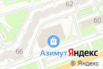 Схема проезда до компании Отдел печати и фотоподарков в Дзержинске