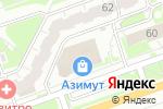 Схема проезда до компании Еврочехол в Дзержинске