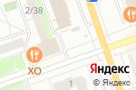 Схема проезда до компании Киоск по продаже фастфудной продукции в Дзержинске
