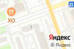 Схема проезда до компании Иксора в Дзержинске
