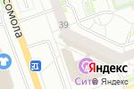 Схема проезда до компании Посейдон в Дзержинске