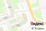 Схема проезда до компании Управление пенсионного фонда РФ по г. Дзержинску в Дзержинске