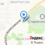 Ордер на карте Дзержинска