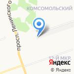 Дакар на карте Дзержинска
