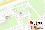 Схема проезда до компании Эгоисты в Дзержинске