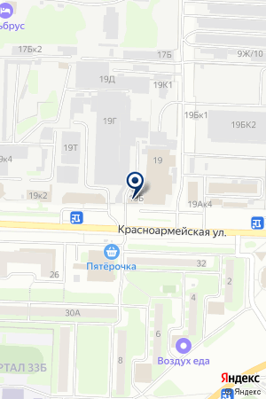 НАУЧНО-ПРОИЗВОДСТВЕННЫЙ ЦЕНТР ДЗЕРЖИНСКСТРОЙИЗЫСКАНИЯ на карте Дзержинска
