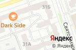 Схема проезда до компании Магазин цветов на ул. Петрищева в Дзержинске