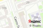 Схема проезда до компании Магазин товаров для рукоделия в Дзержинске