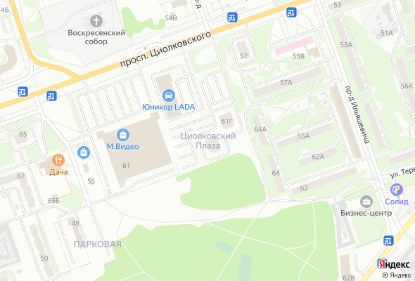жилой комплекс Циолковский Плаза