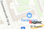 Схема проезда до компании Магазин цветов на проспекте Циолковского в Дзержинске