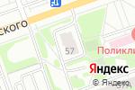 Схема проезда до компании Кардиологический кабинет в Дзержинске