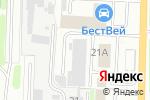 Схема проезда до компании Центр-Снаб в Дзержинске