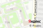 Схема проезда до компании Руслан в Дзержинске