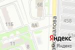 Схема проезда до компании Феликс в Дзержинске