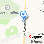 Сан-сервис на карте Дзержинска