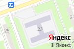 Схема проезда до компании Средняя общеобразовательная школа №71 в Дзержинске