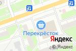 Схема проезда до компании Перекресток в Дзержинске
