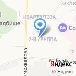 Средняя школа №35 на карте Дзержинска