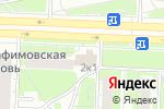 Схема проезда до компании Продуктовый магазин в Дзержинске