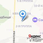 Детский сад №131 комбинированного вида на карте Дзержинска