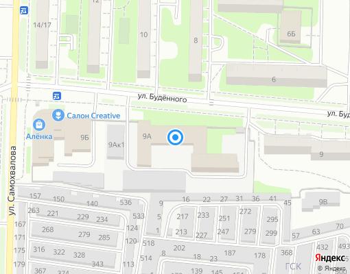 Управляющая компания «Управдом» на карте Дзержинска