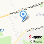 Детский сад №130 на карте Дзержинска