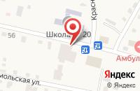 Схема проезда до компании Эконом маркет в Подгорной