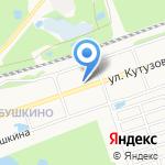 У Кутузова на карте Дзержинска