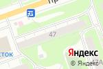 Схема проезда до компании ЖакЛин в Дзержинске