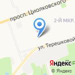 Фортуна на карте Дзержинска