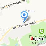 Средняя школа №14 на карте Дзержинска
