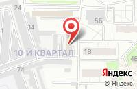 Схема проезда до компании Миавто в Электрогорске