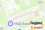 Схема проезда до компании Юный скульптор в Дзержинске