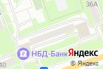Схема проезда до компании Автошкола №1 в Дзержинске