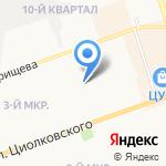 Дзержинсклифтремонт на карте Дзержинска