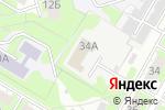 Схема проезда до компании Клуб самбо VLADIMIR в Дзержинске