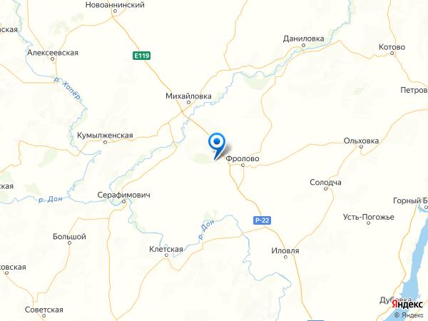 поселок Школьный на карте