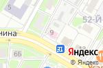 Схема проезда до компании Теплострой в Дзержинске