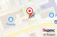 Схема проезда до компании Юнона Принт в Дзержинске