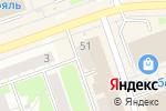 Схема проезда до компании Магнит Косметик в Дзержинске