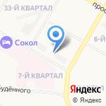 Детский сад №119 на карте Дзержинска