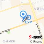 Печка на карте Дзержинска