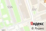 Схема проезда до компании Мир дверей в Дзержинске