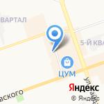 Лора на карте Дзержинска