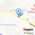 Мясной мир на карте Дзержинска
